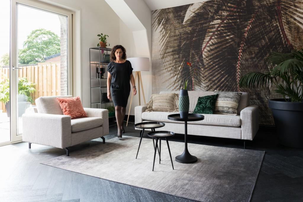 By Boo Lampen : Zuiver teppich obi grau 200 x 300 cm designwohnen.de